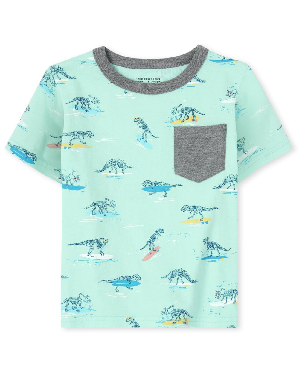 Baby And Toddler Boys Mix And Match Print Pocket Top