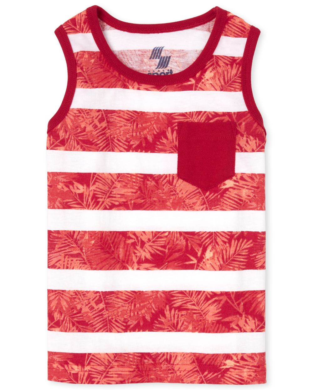 Baby And Toddler Boys Mix And Match Print Pocket Tank Top