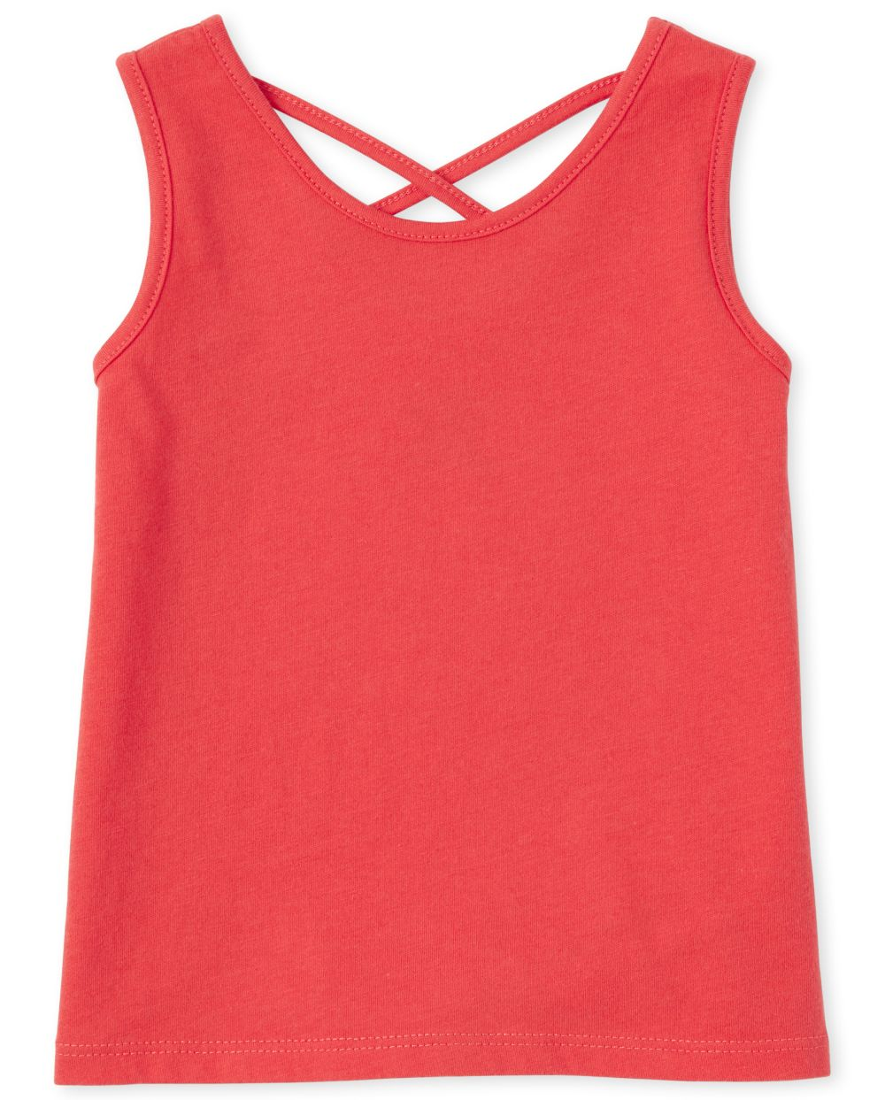 Baby And Toddler Girls Mix And Match Cross Back Tank Top