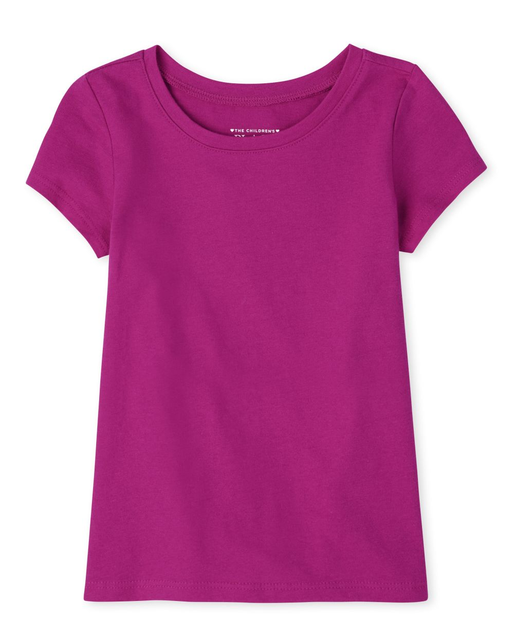 Baby And Toddler Girls Uniform Basic Layering Tee