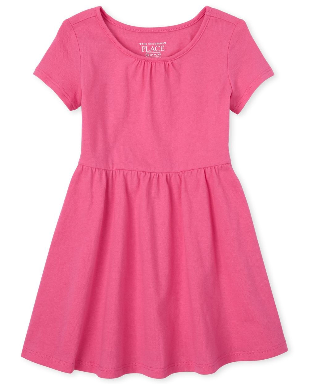 Baby And Toddler Girls Shirred Dress