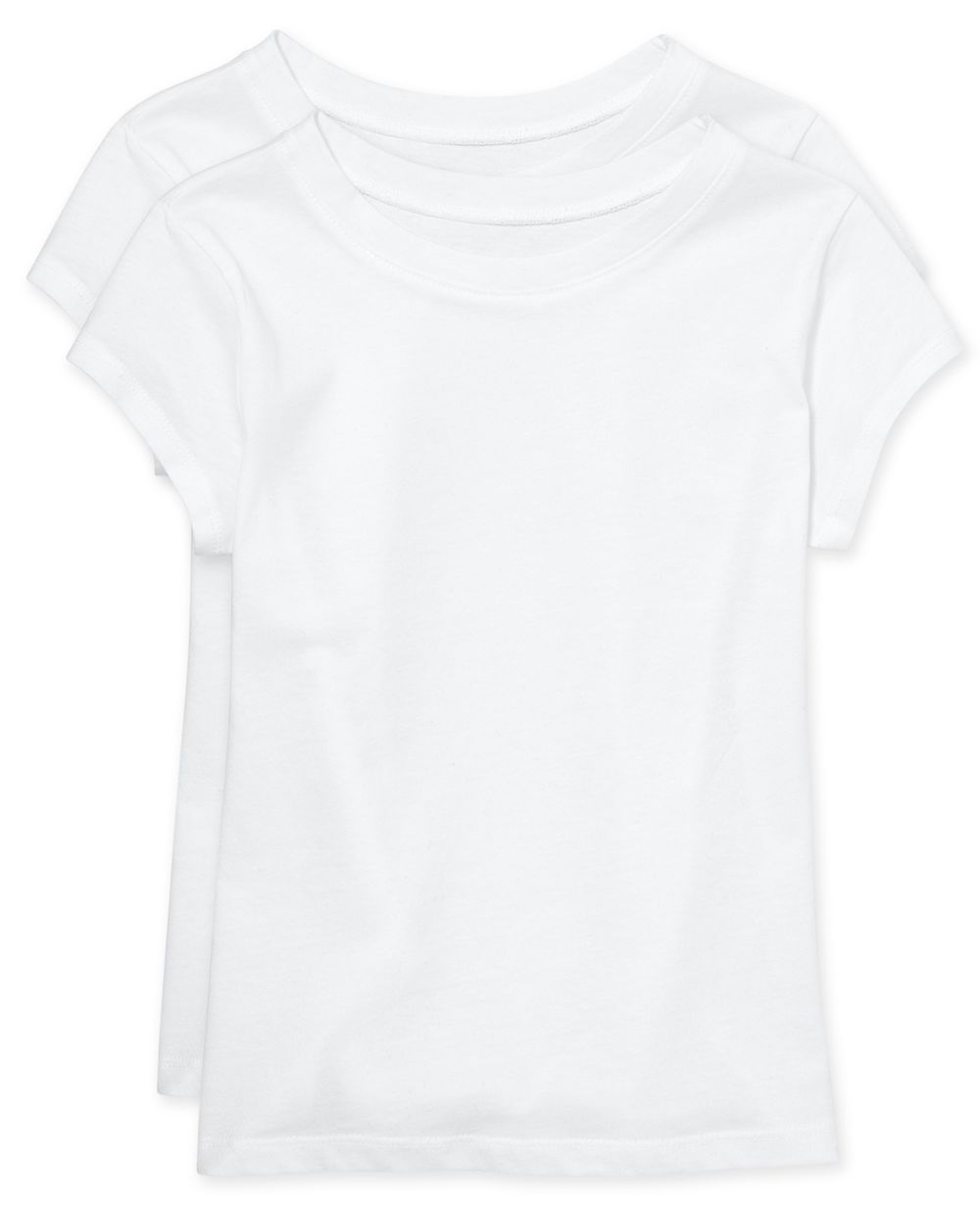 Girls Uniform Basic Layering Tee 2-Pack