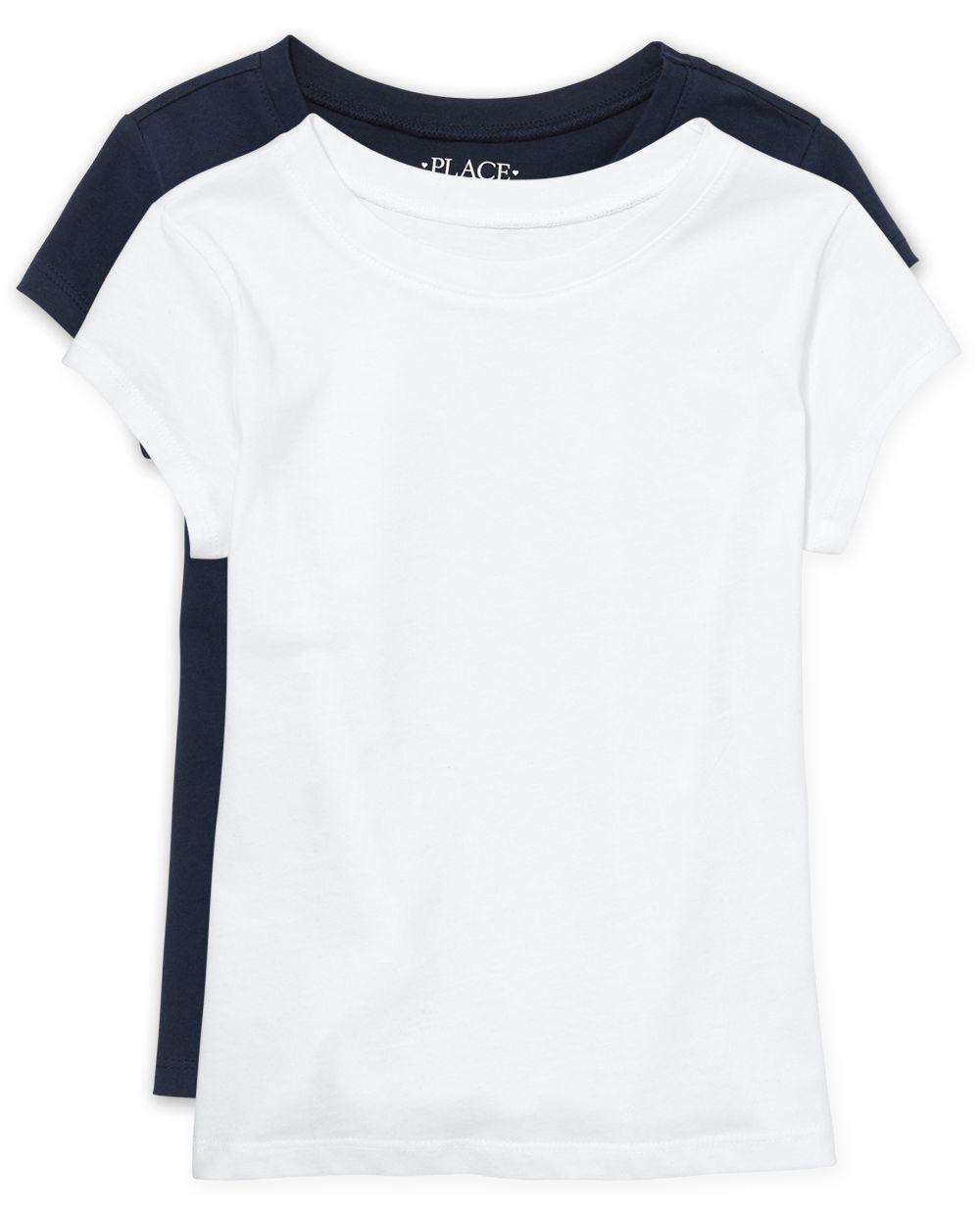 Girls Uniform Basic Layering Tee 2-Pack