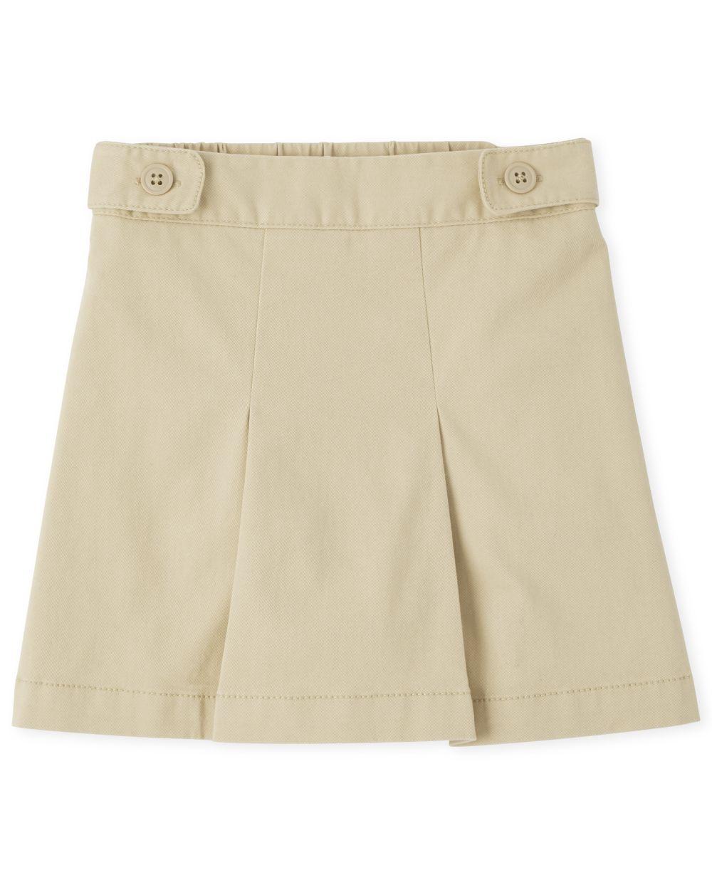 Girls Uniform Wrinkle Resistant Skort