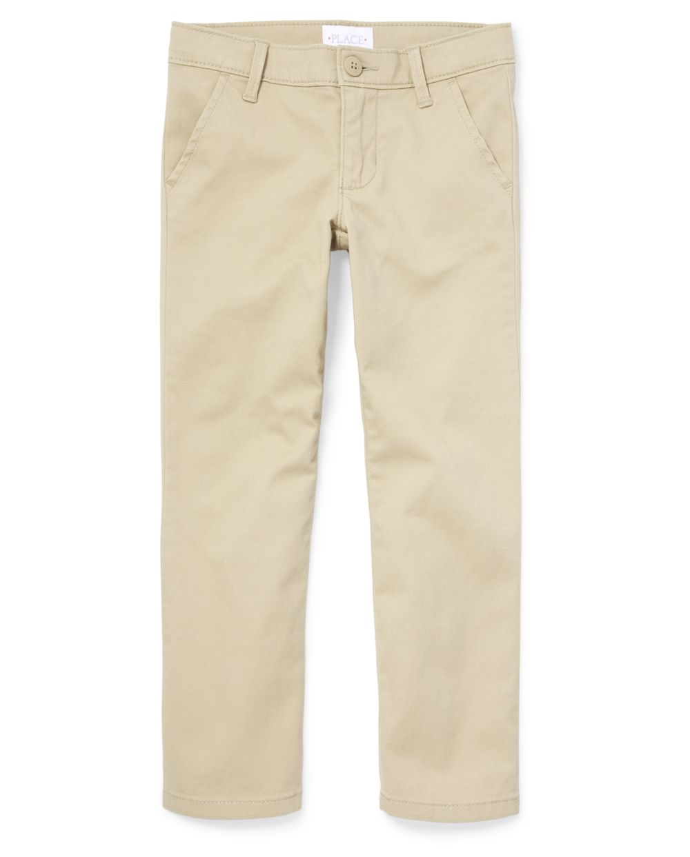 Girls Uniform Stain And Wrinkle Resistant Skinny Perfect Pants