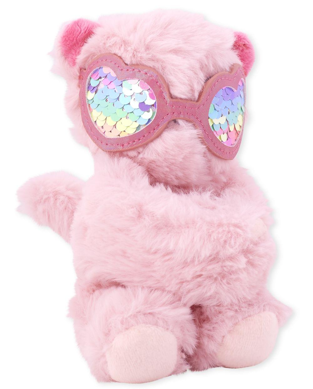 Pulsera de cachemira con gato y lentejuelas de piel sintética para niñas