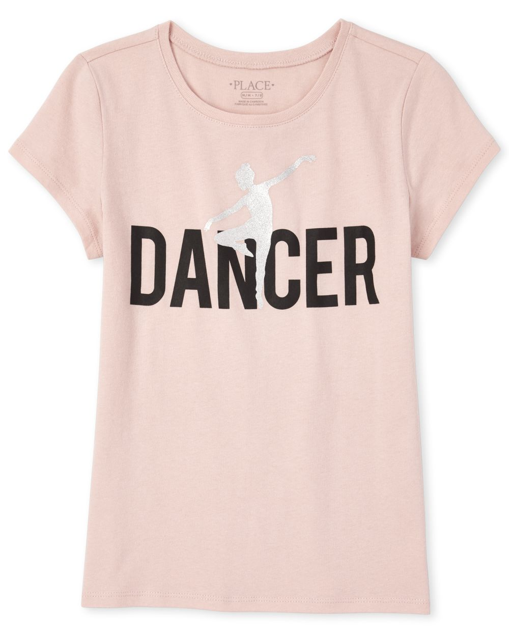 Girls Mommy And Me Glitter Dancer Matching Graphic Tee