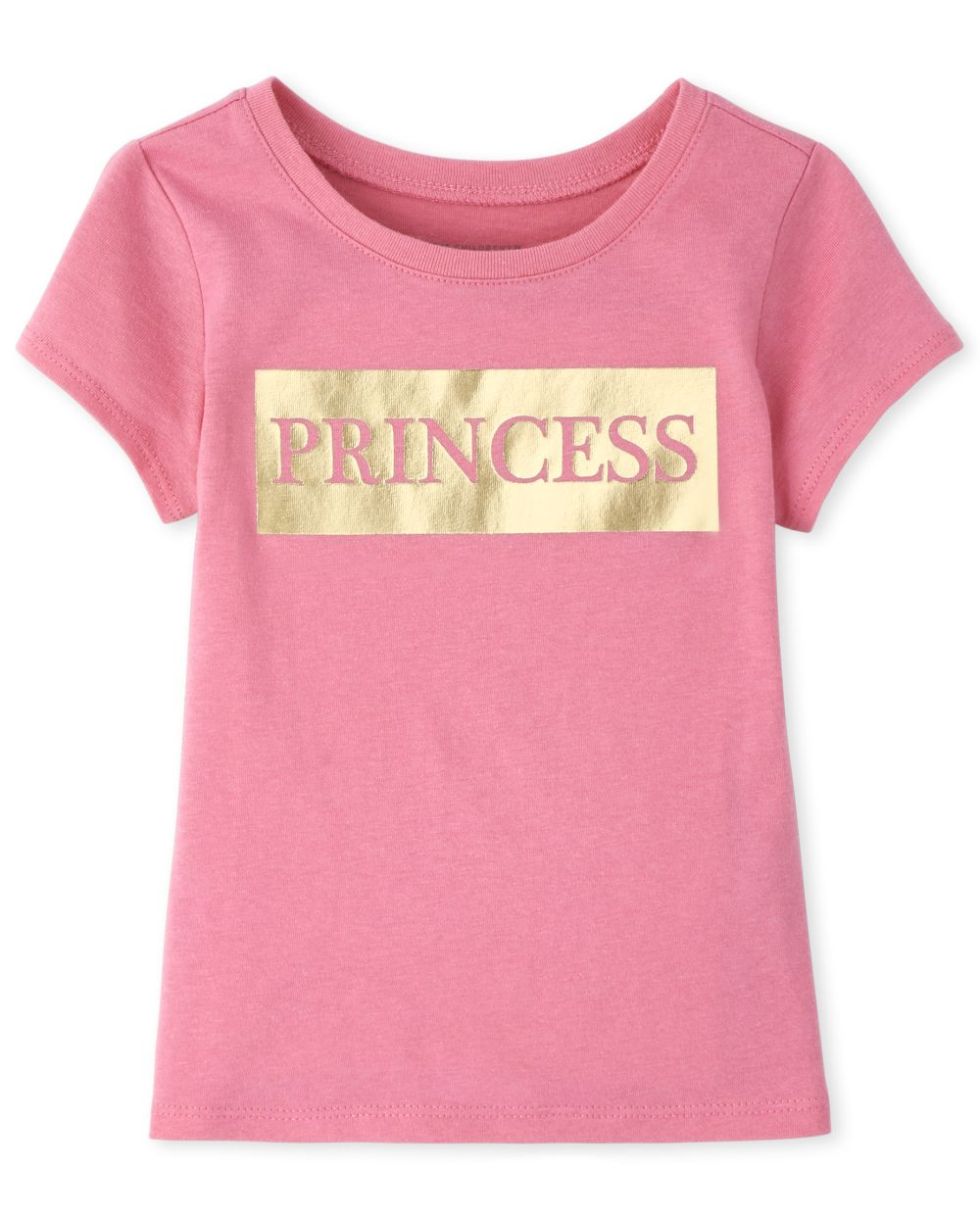 Baby And Toddler Girls Mommy And Me Foil Princess Matching Graphic Tee