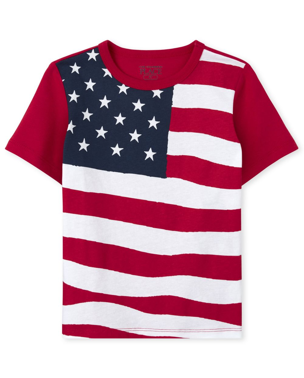 Baby And Toddler Boys Americana Flag Graphic Tee
