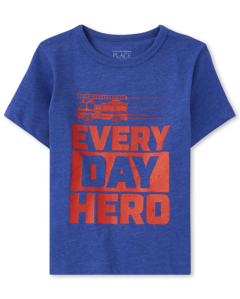Baby And Toddler Boys Hero Fire Truck Graphic Tee