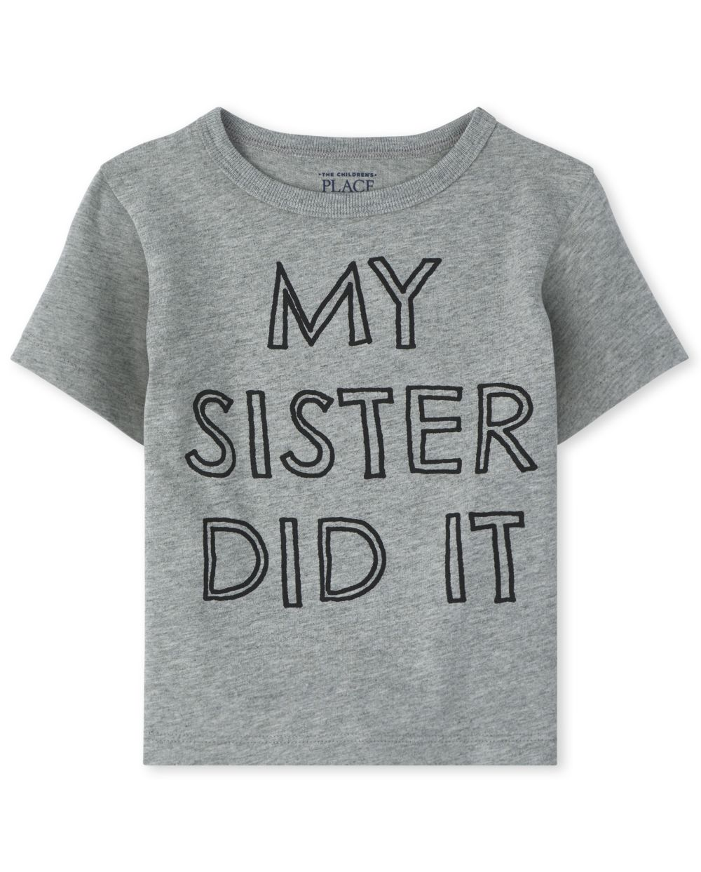 Baby And Toddler Boys My Sister Did It Graphic Tee