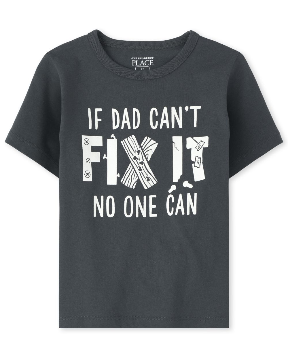 Baby And Toddler Boys Dad Fix It Graphic Tee