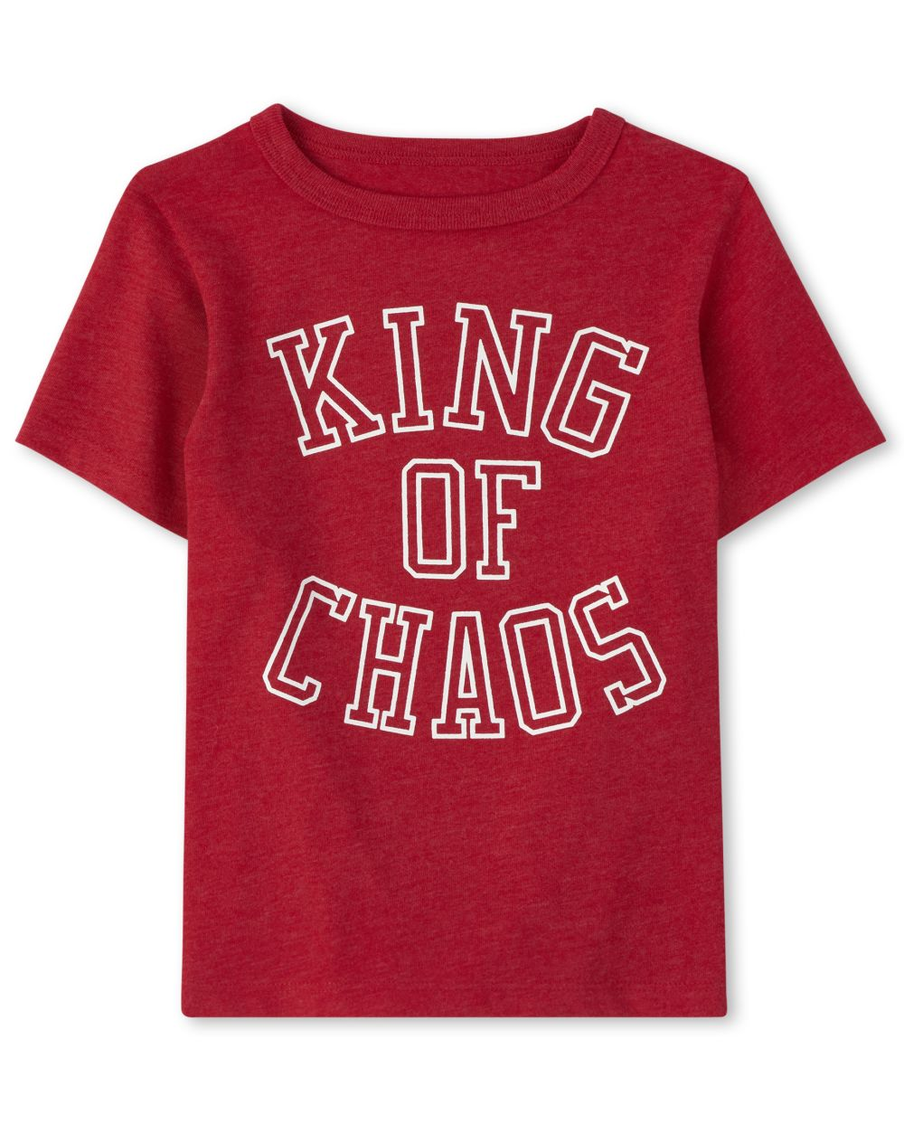 Baby And Toddler Boys King Of Chaos Graphic Tee