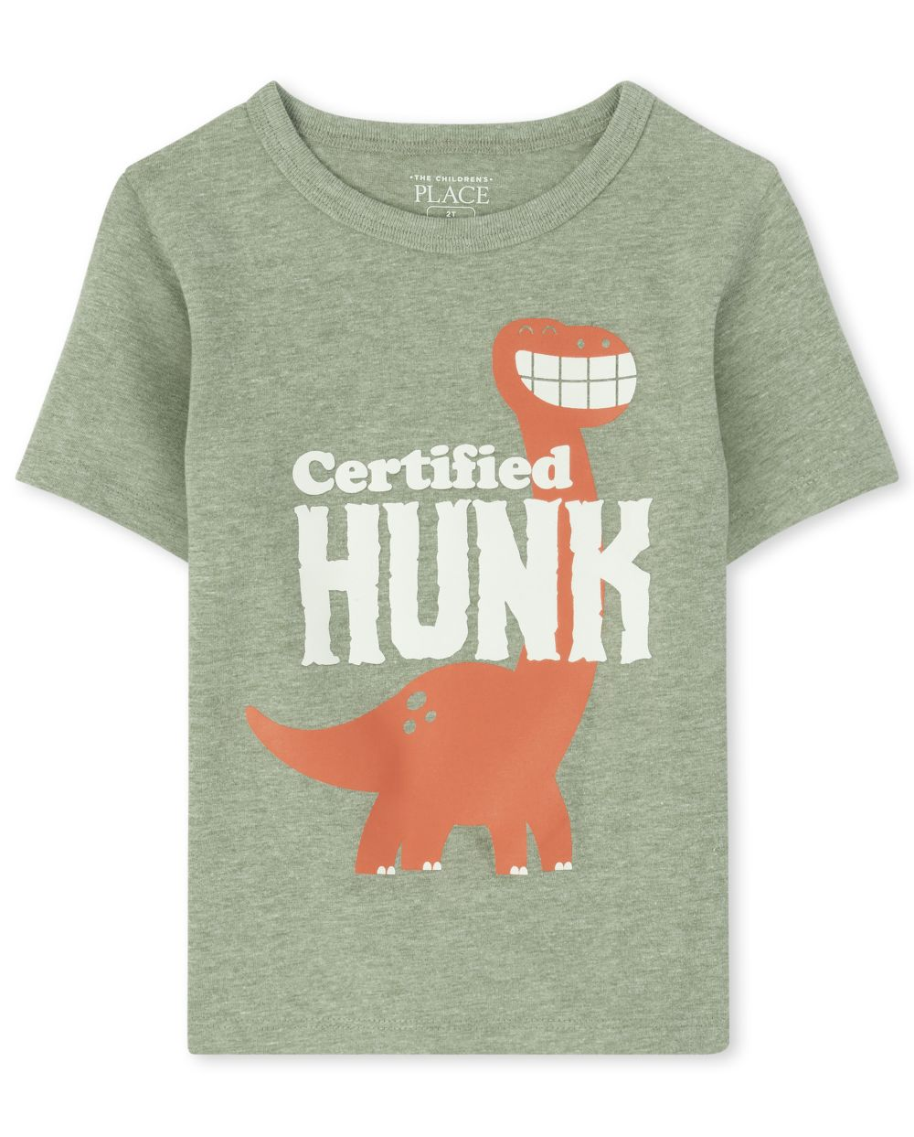 Baby And Toddler Boys Dino Hunk Graphic Tee