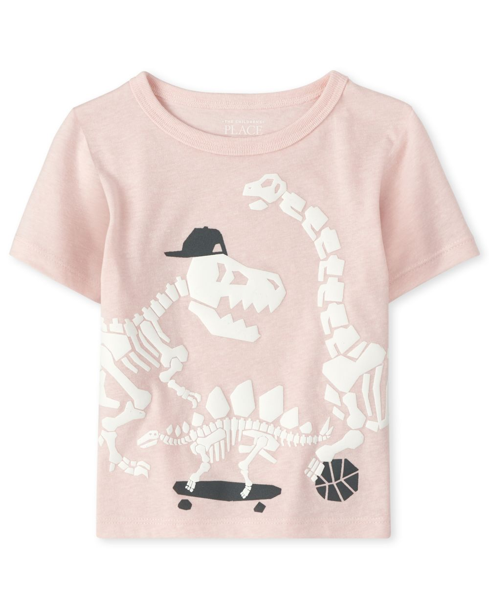 Baby And Toddler Boys Sports Dino Graphic Tee