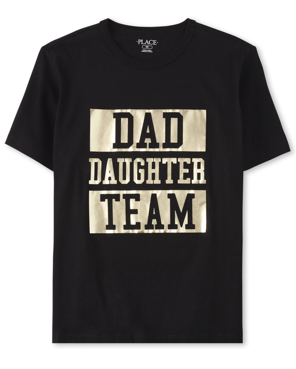 Mens Matching Family Foil Team Graphic Tee