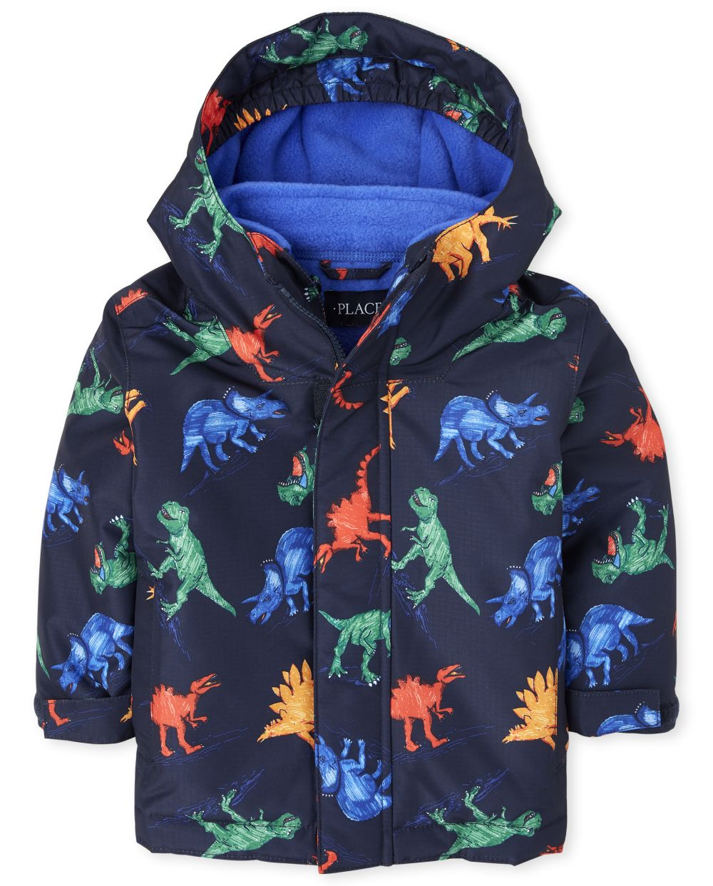 Toddler Boys Print 3 In 1 Jacket