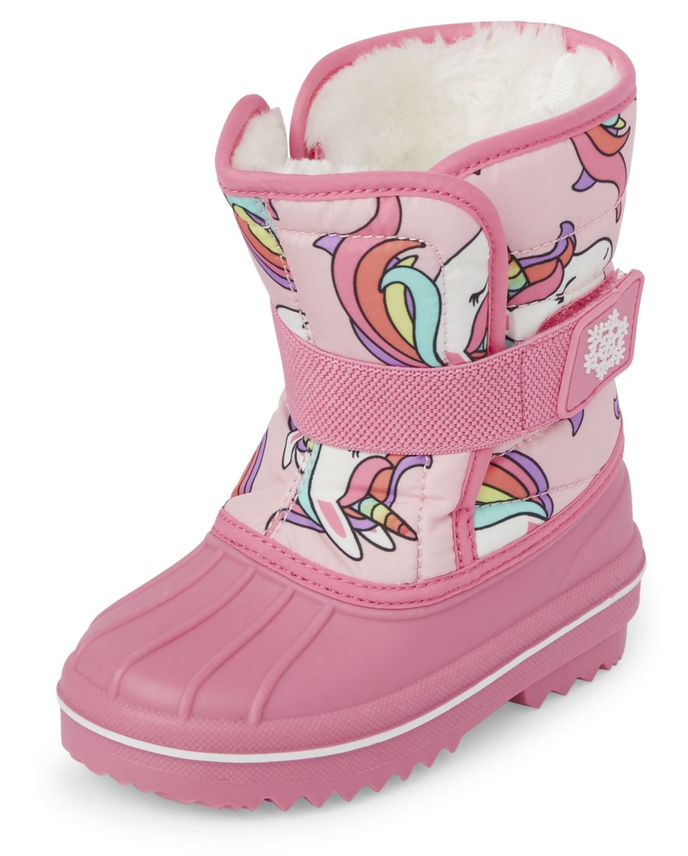 Toddler Girls Unicorn Snow Boots