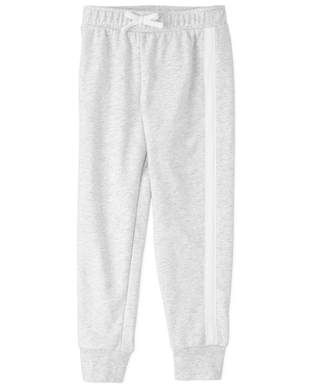 Girls Active Side Stripe French Terry Jogger Pants