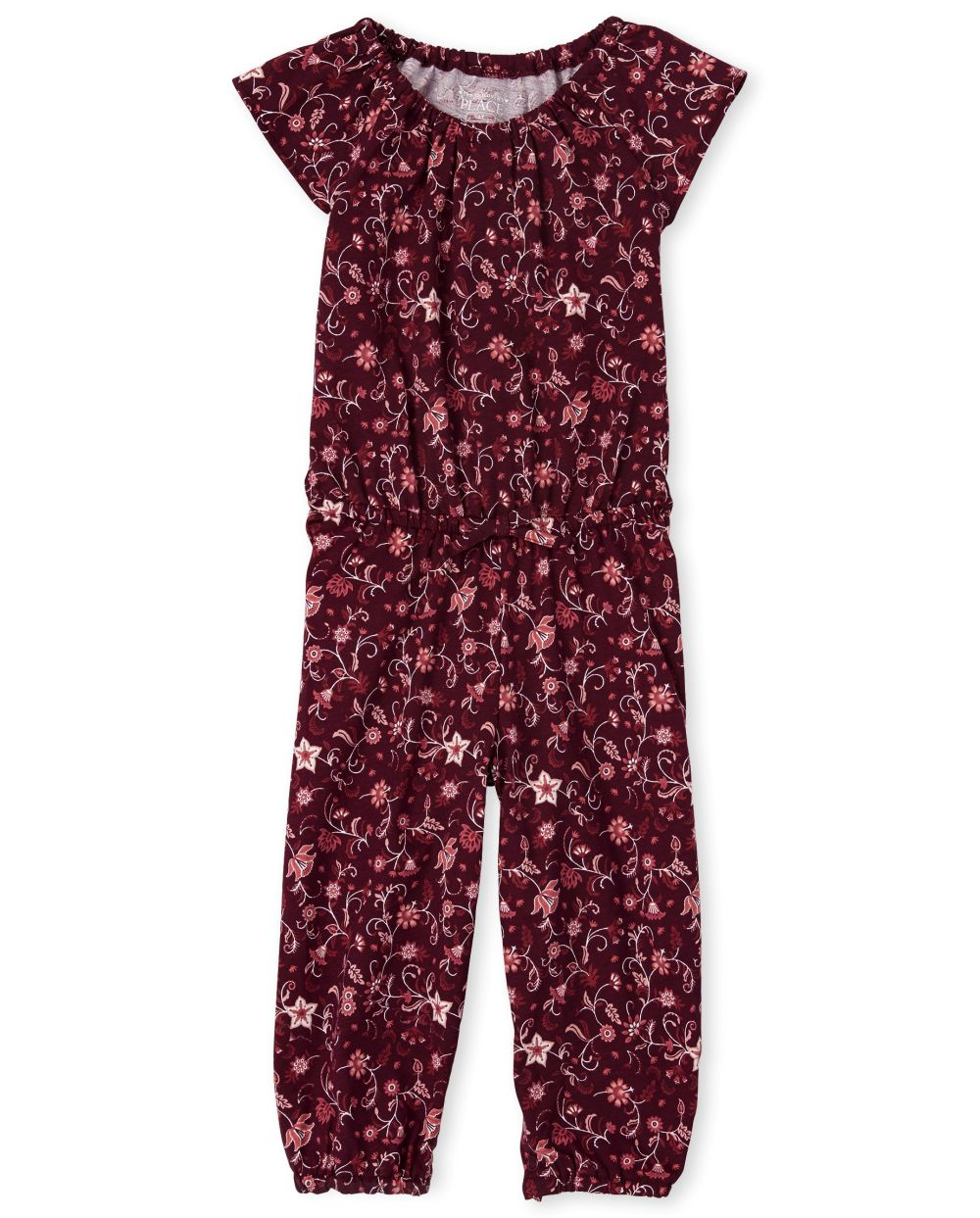 Baby And Toddler Girls Floral Jumpsuit