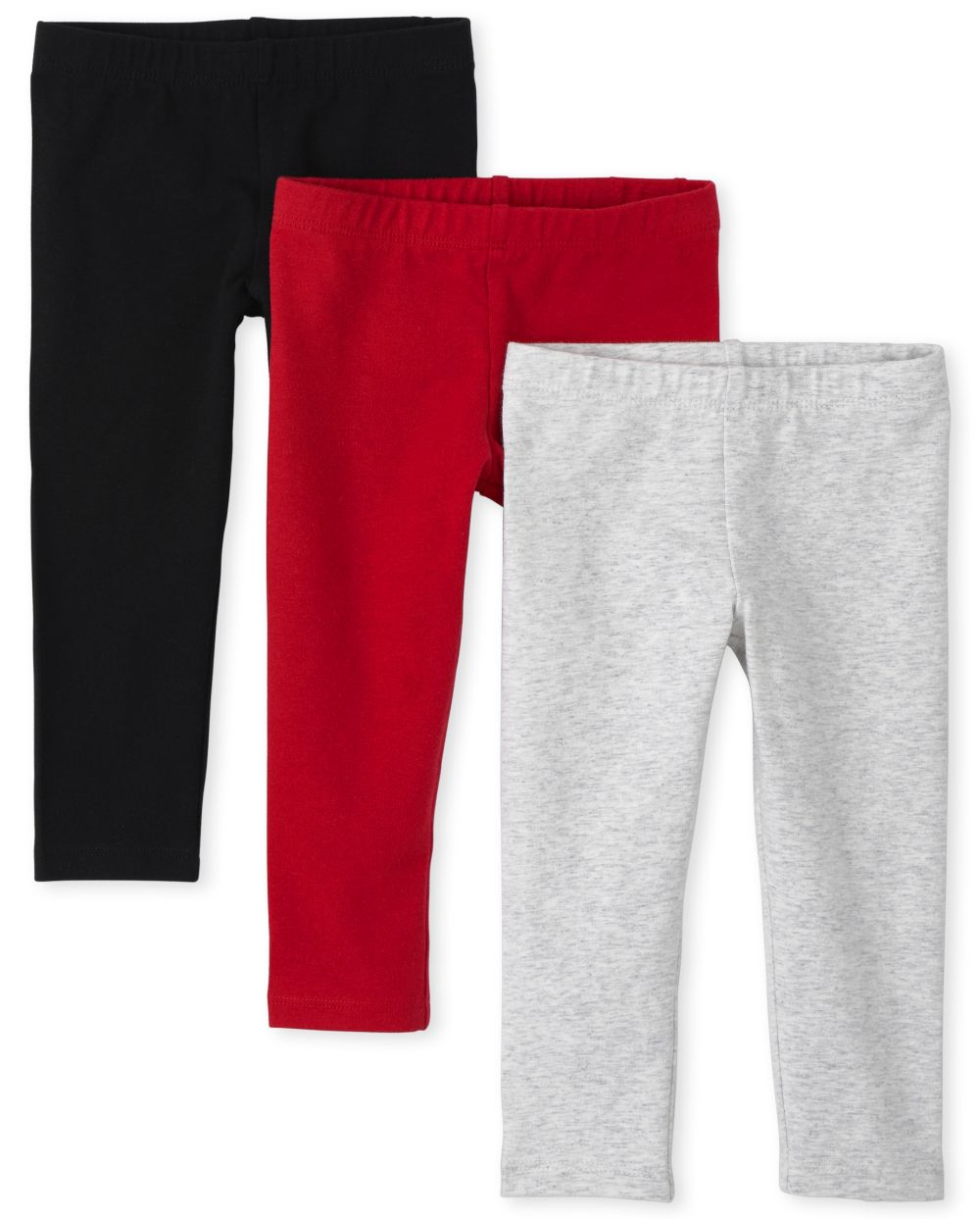 Toddler Girls Leggings 3-Pack