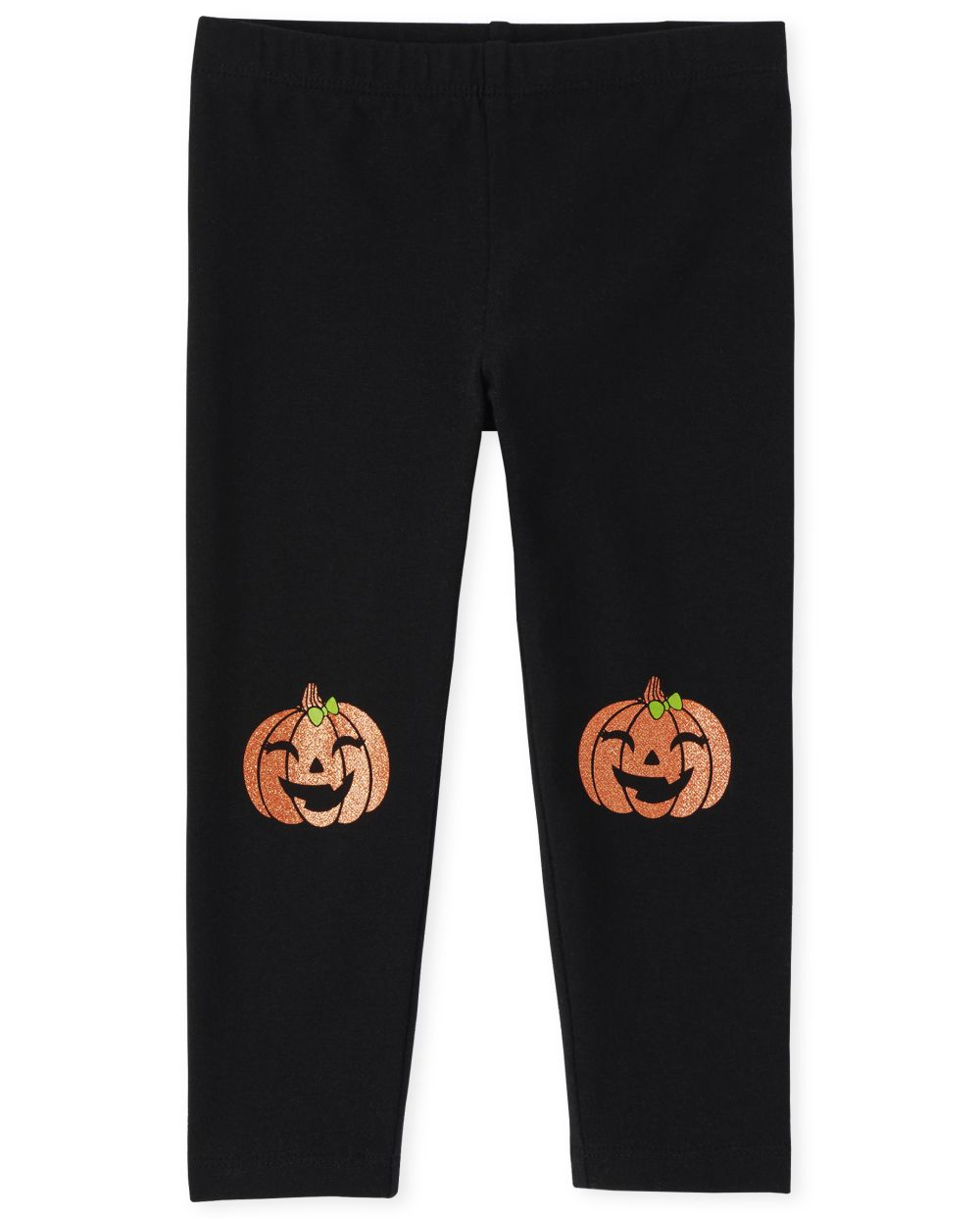 Baby And Toddler Girls Halloween Pumpkin Leggings