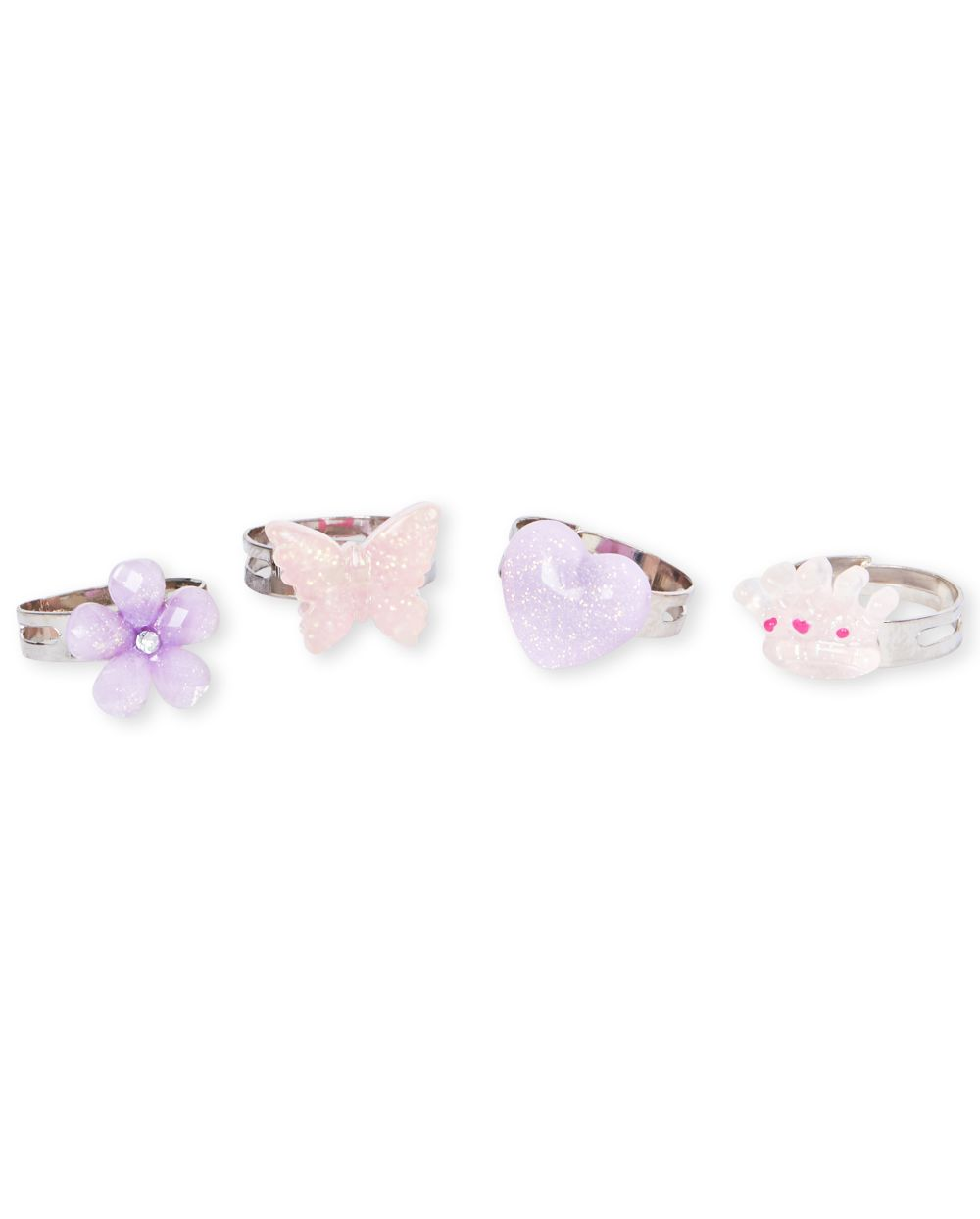 Girls Garden Ring 4-Pack
