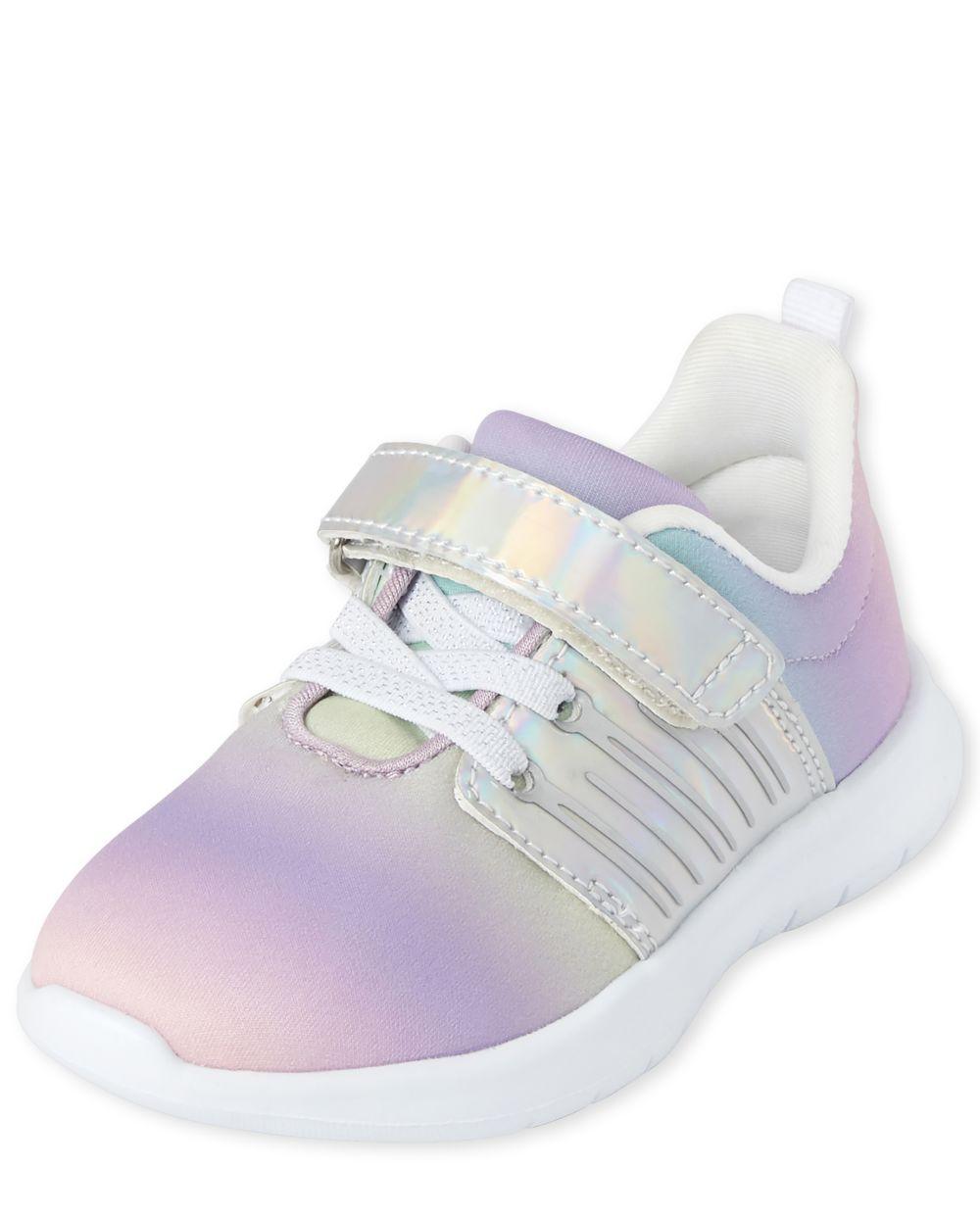 Zapatillas de running Rainbow para niñas pequeñas