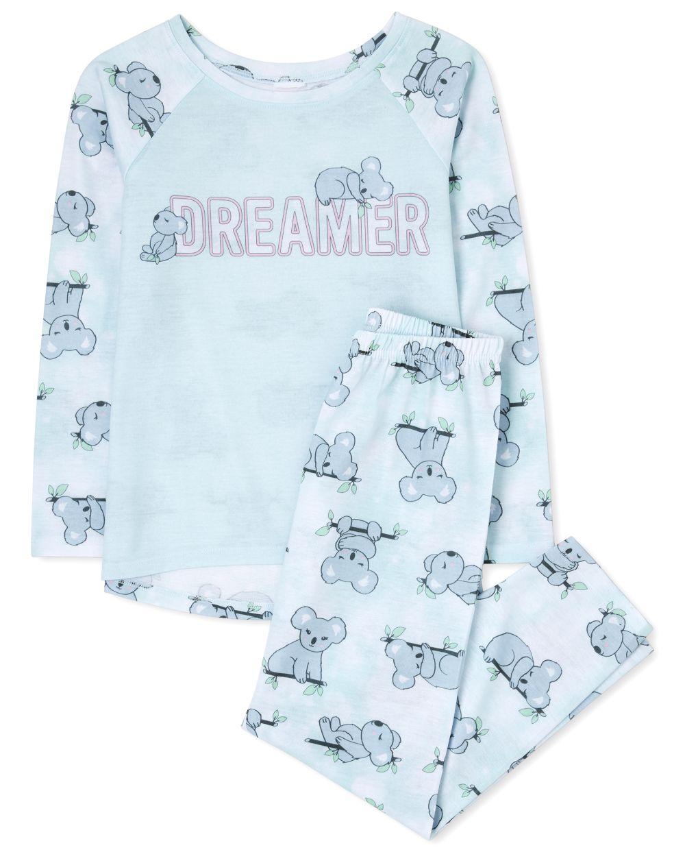 Girls Koala Pajamas