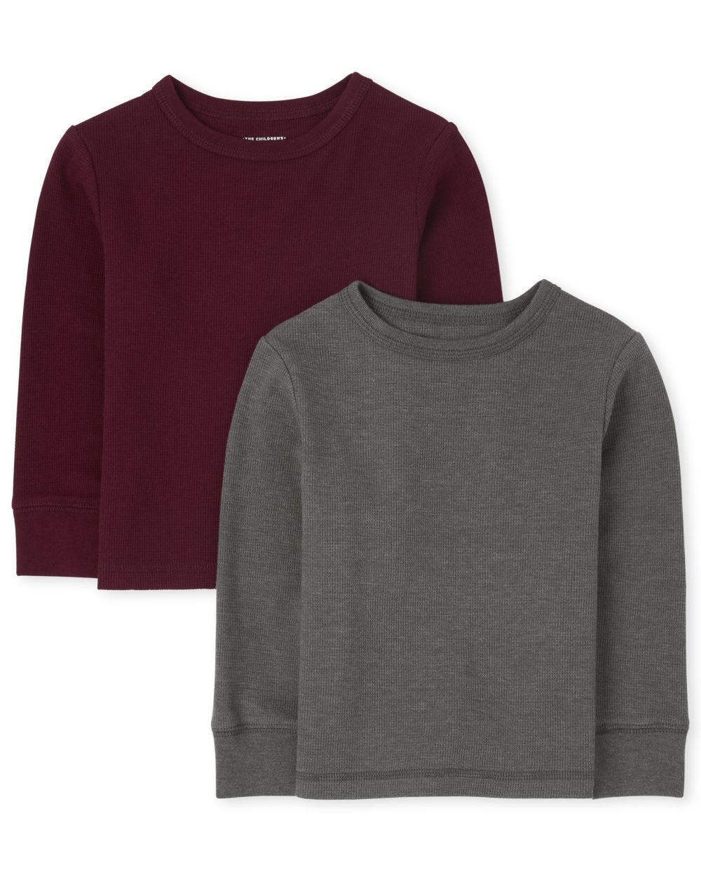 Baby And Toddler Boys Thermal Top 2-Pack