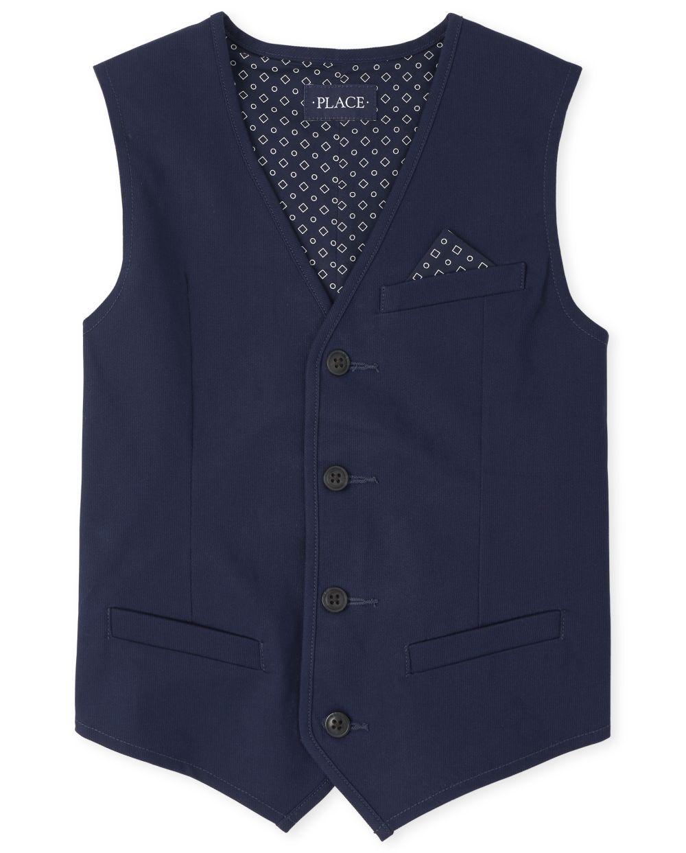 Boys Corduroy Dressy Vest