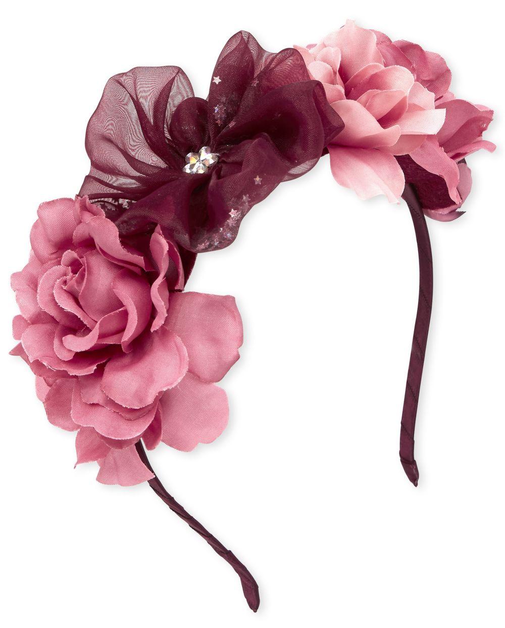 Diadema Shakey Flower Crown para niñas