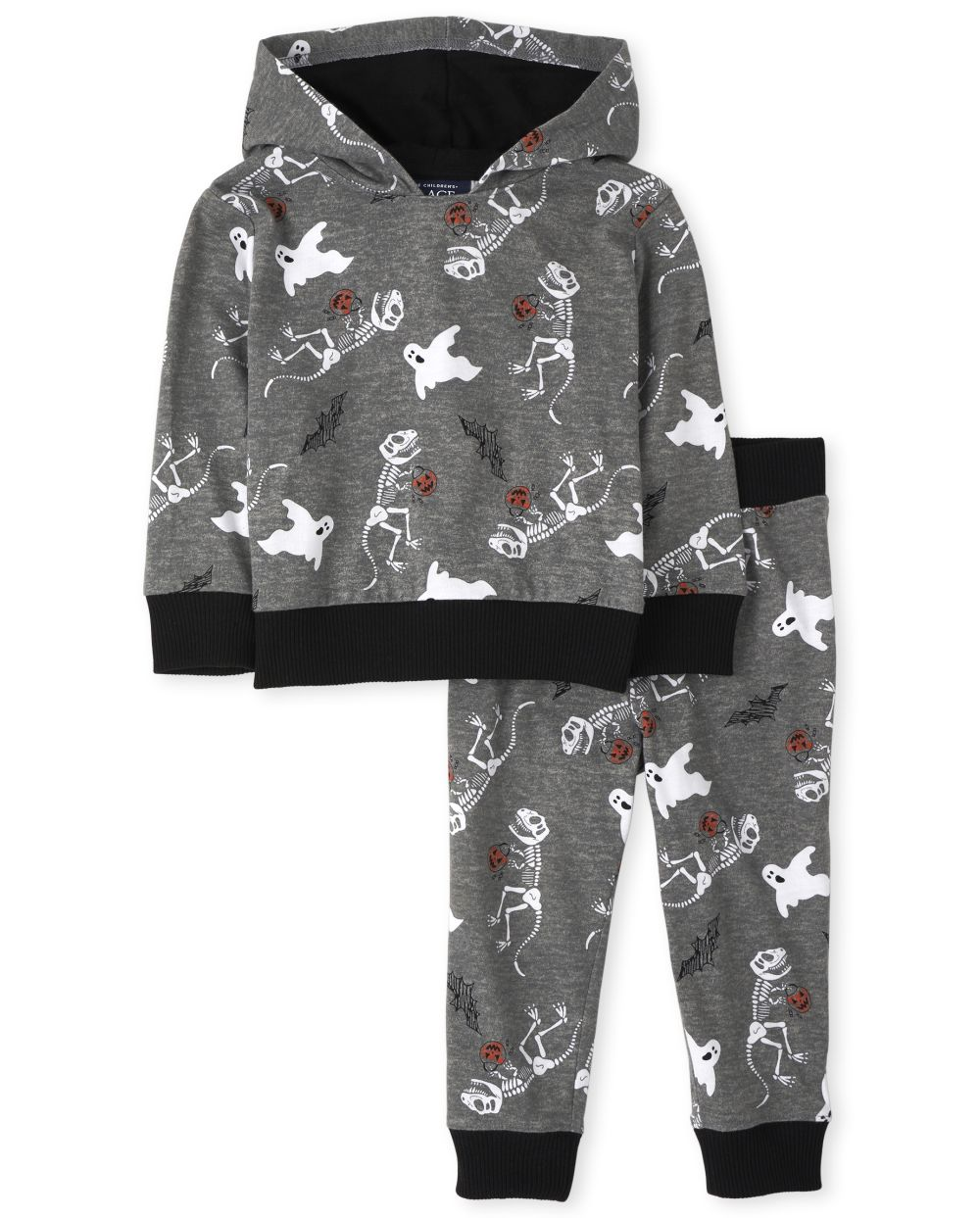 Baby And Toddler Boys Dino Outfit Set