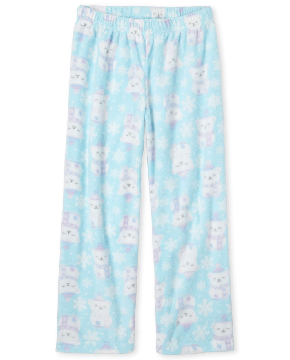 Girls Polar Bear Fleece Pajama Pants