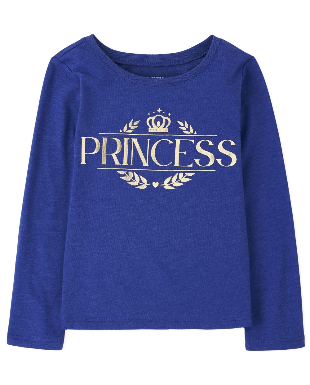 Baby And Toddler Girls Matching Family Foil Royal Graphic Tee