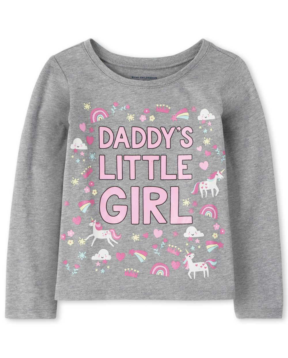 Baby And Toddler Girls Daddy's Little Girl Graphic Tee