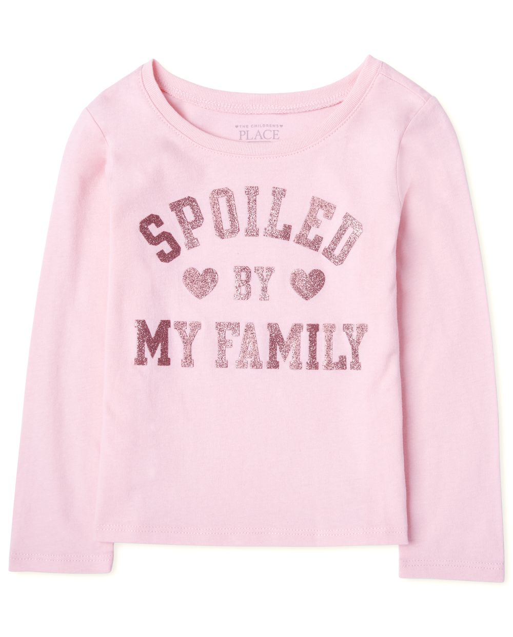 Toddler Girls Spoiled Graphic Tee