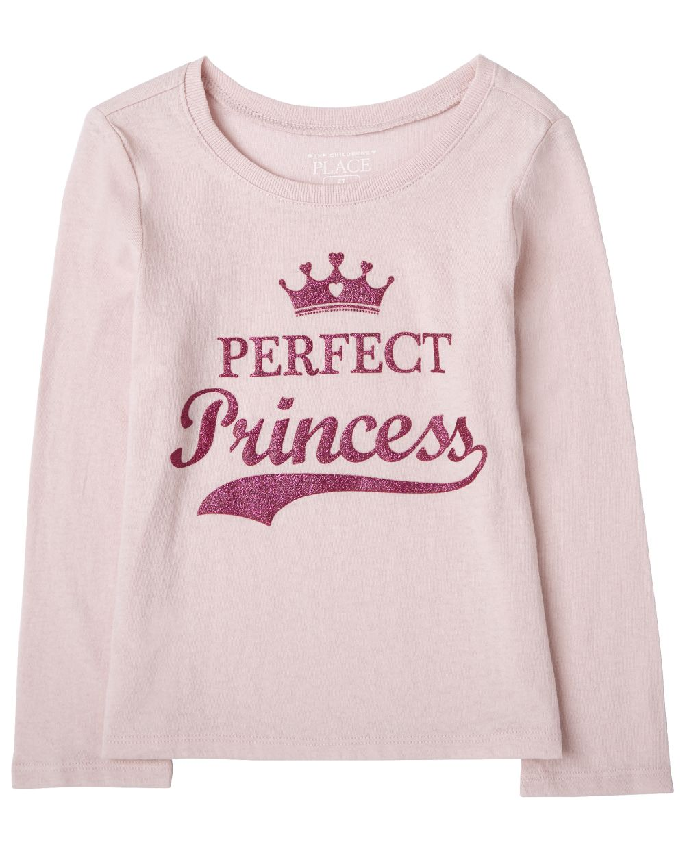 Baby And Toddler Girls Perfect Princess Graphic Tee
