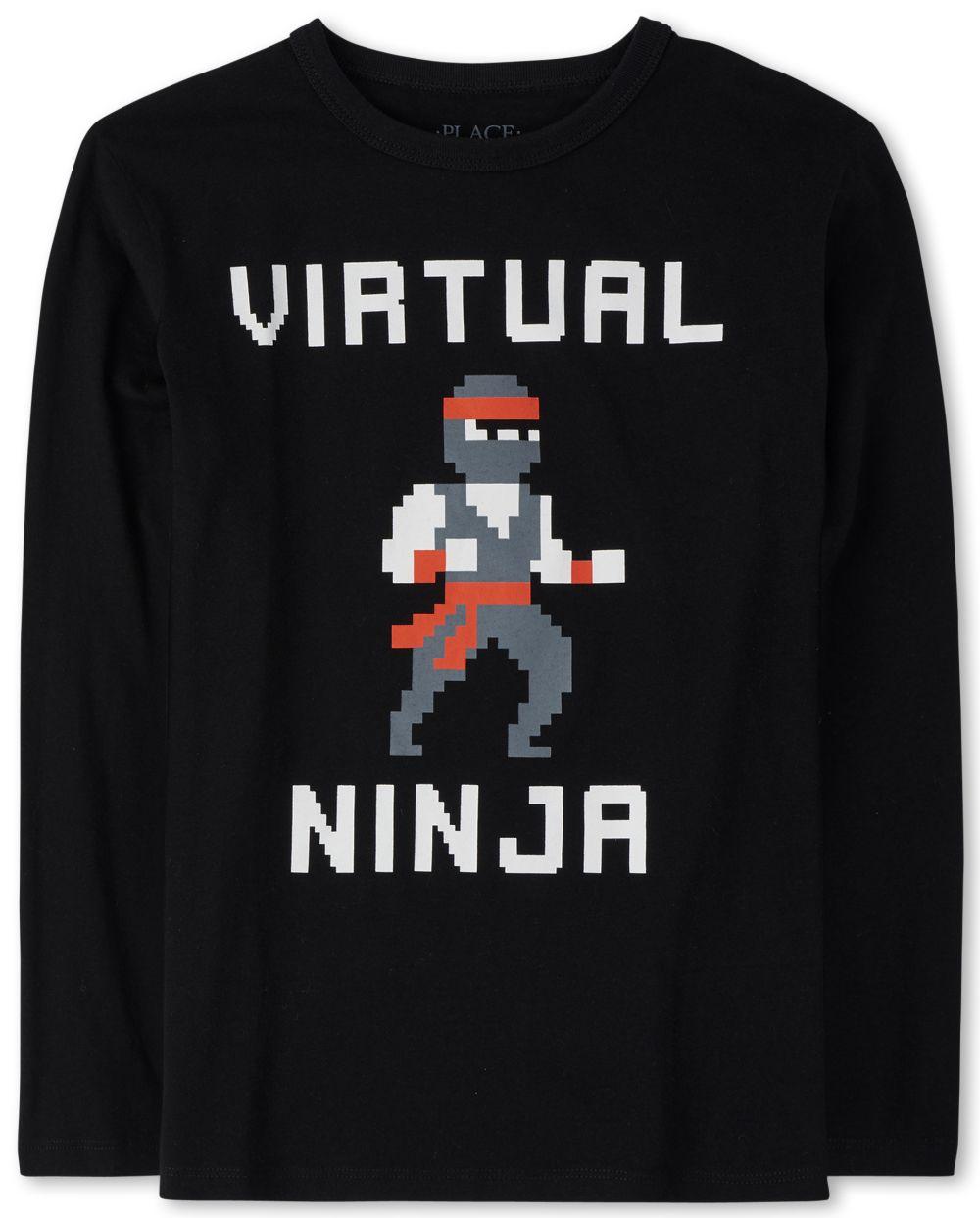Boys Virtual Ninja Graphic Tee