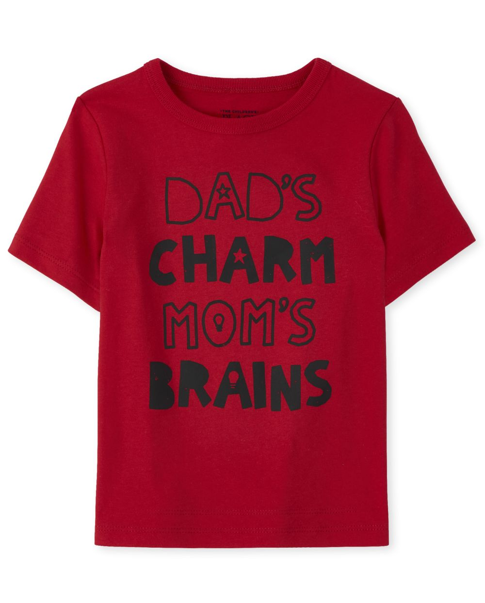 Baby And Toddler Boys Charm And Brains Graphic Tee