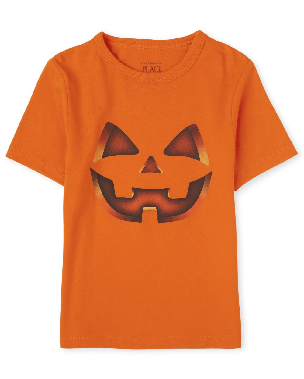 Baby And Toddler Boys Halloween Pumpkin Graphic Tee