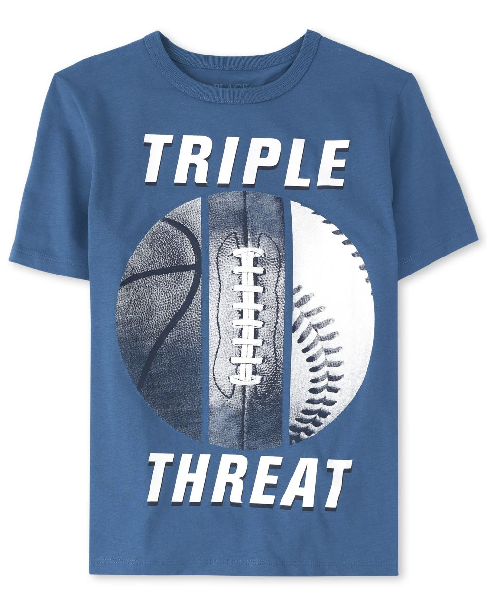 Boys Triple Threat Sports Graphic Tee
