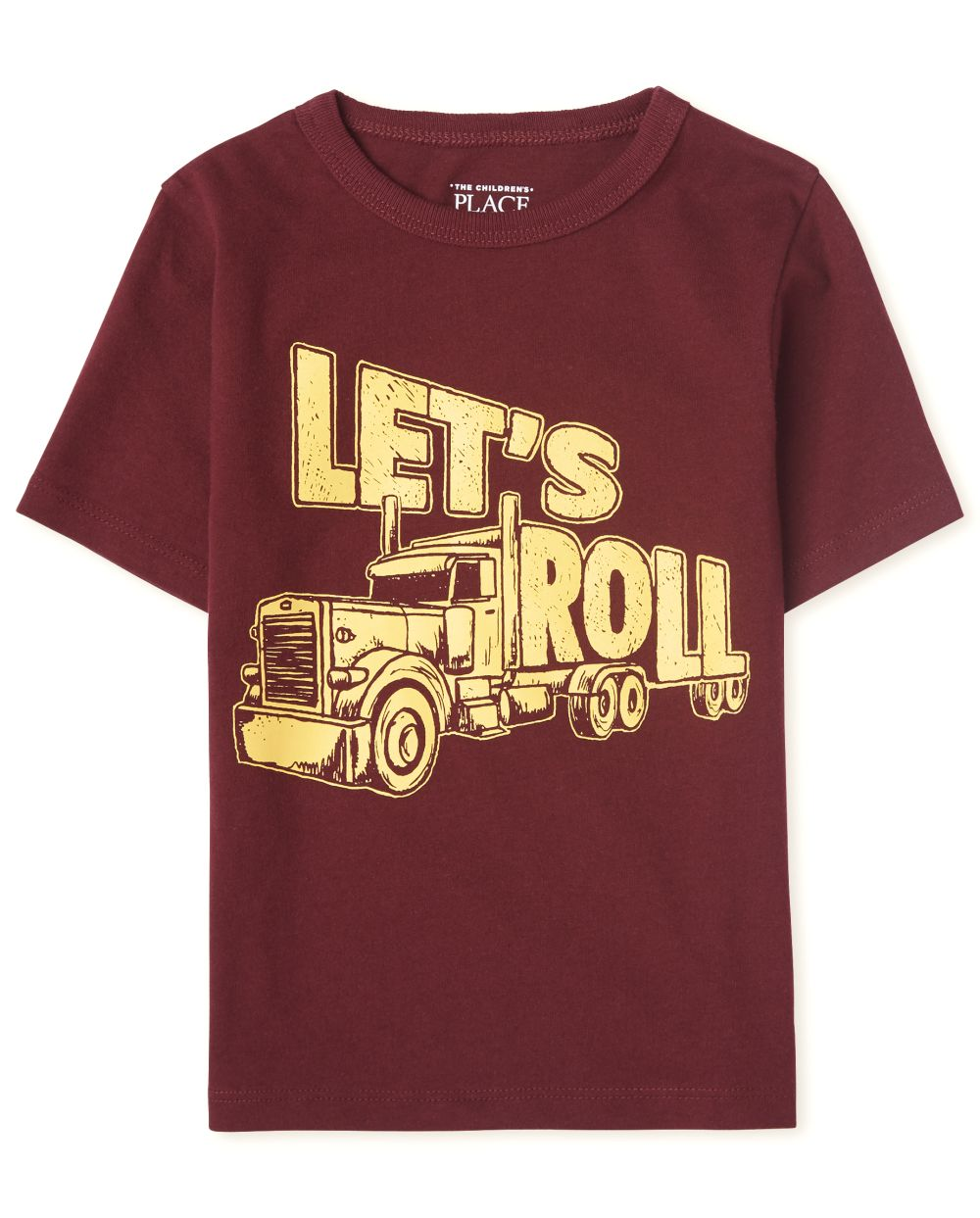 Baby And Toddler Boys Let's Roll Graphic Tee