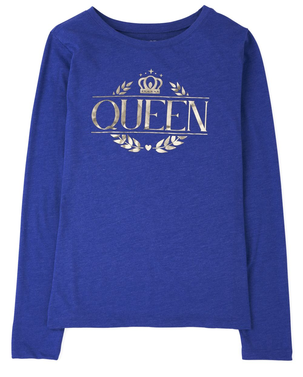 Womens Matching Family Foil Royal Graphic Tee