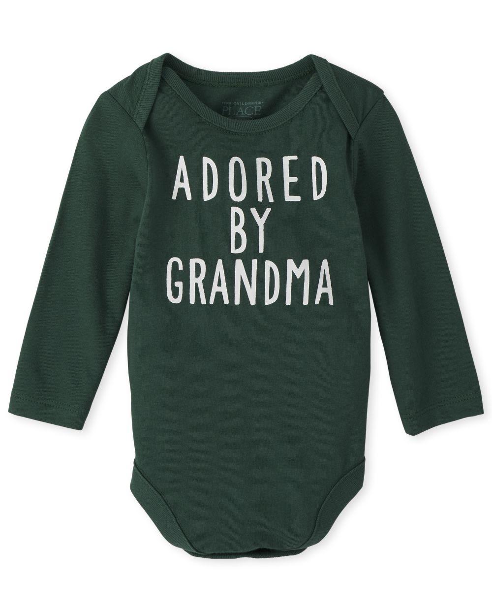 Baby Boys Grandma Graphic Bodysuit