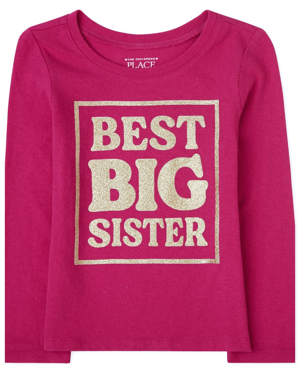 Baby And Toddler Girls Big Sister Graphic Tee