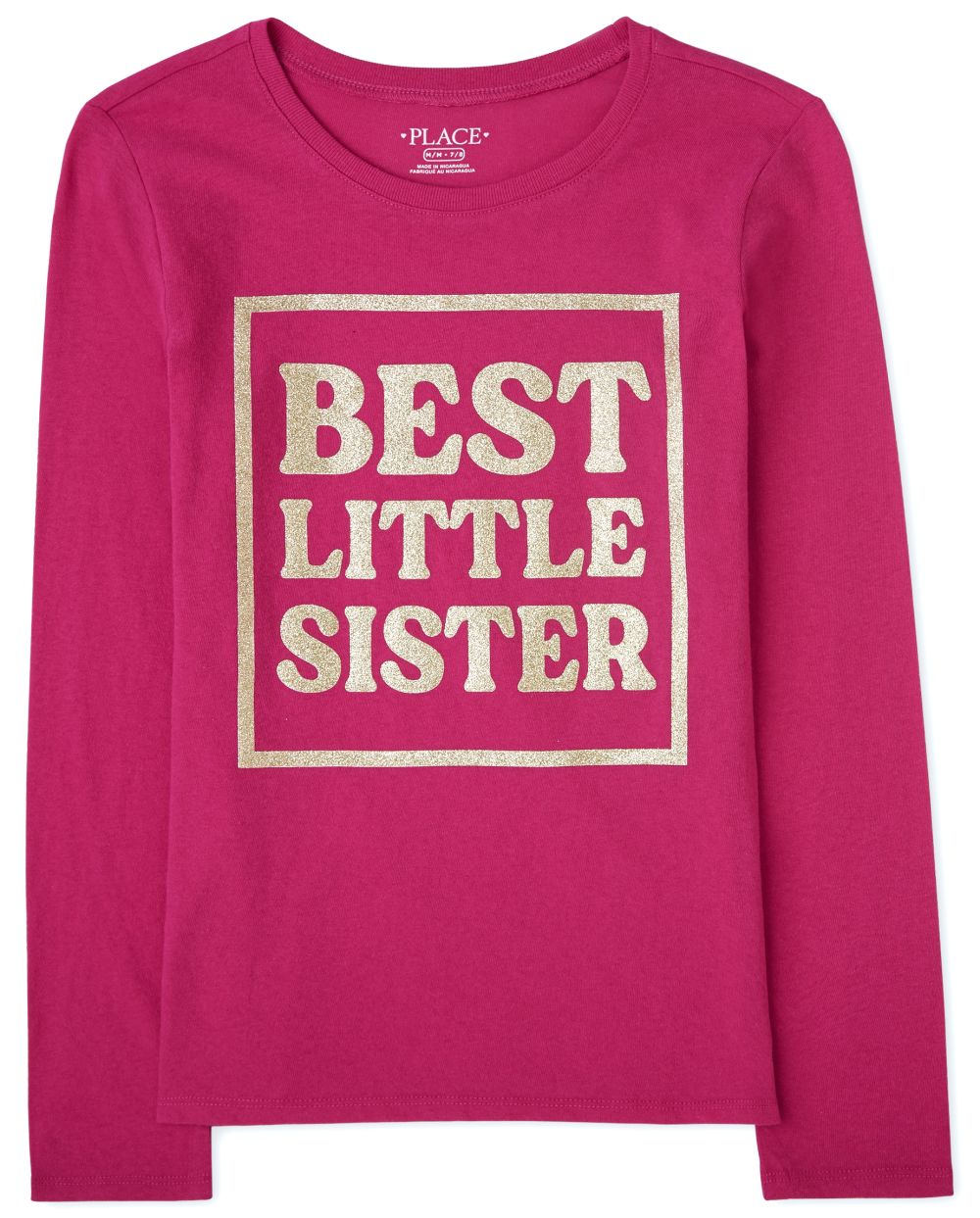 Girls Little Sister Graphic Tee