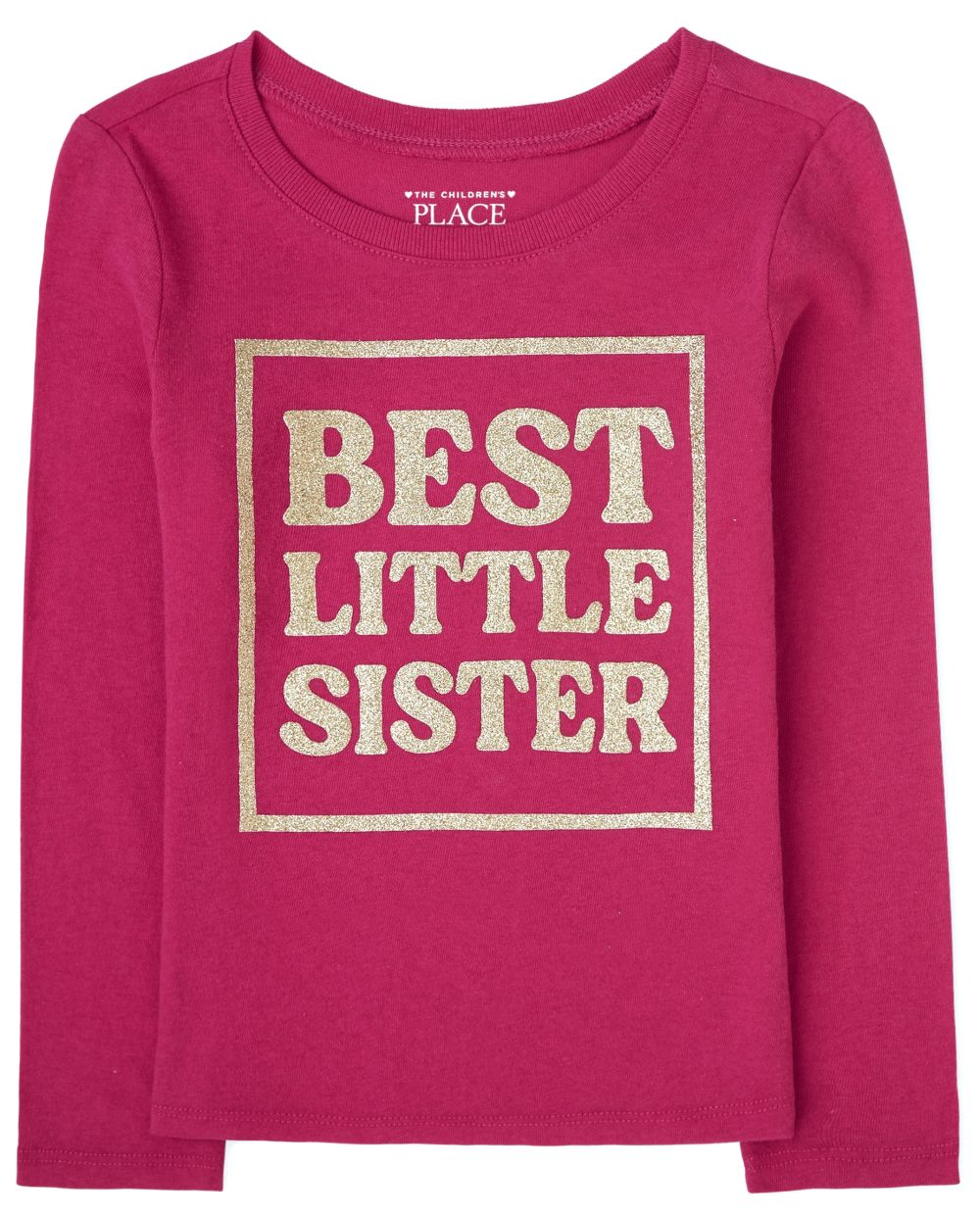 Baby And Toddler Girls Little Sister Graphic Tee