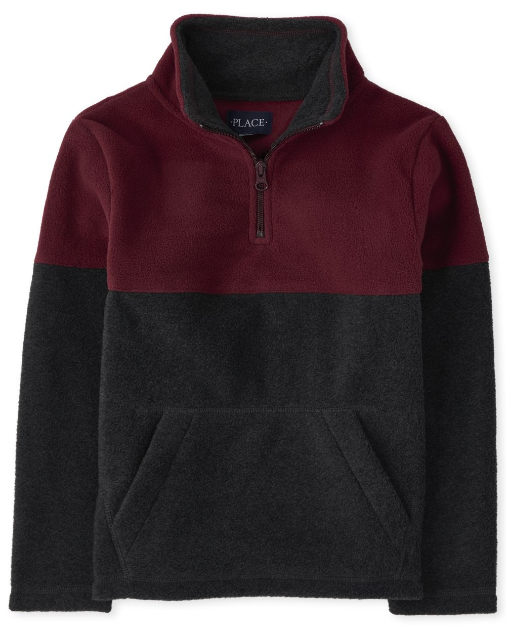 Boys Colorblock Glacier Fleece Half Zip Pullover