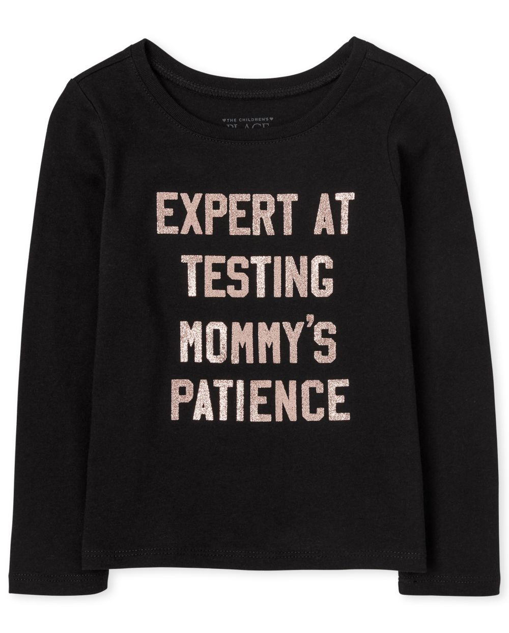 Baby And Toddler Girls Mommy's Patience Graphic Tee